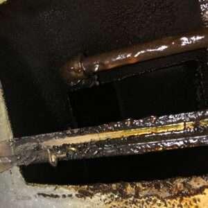 Range-hood-dirty-duct-in-plenum