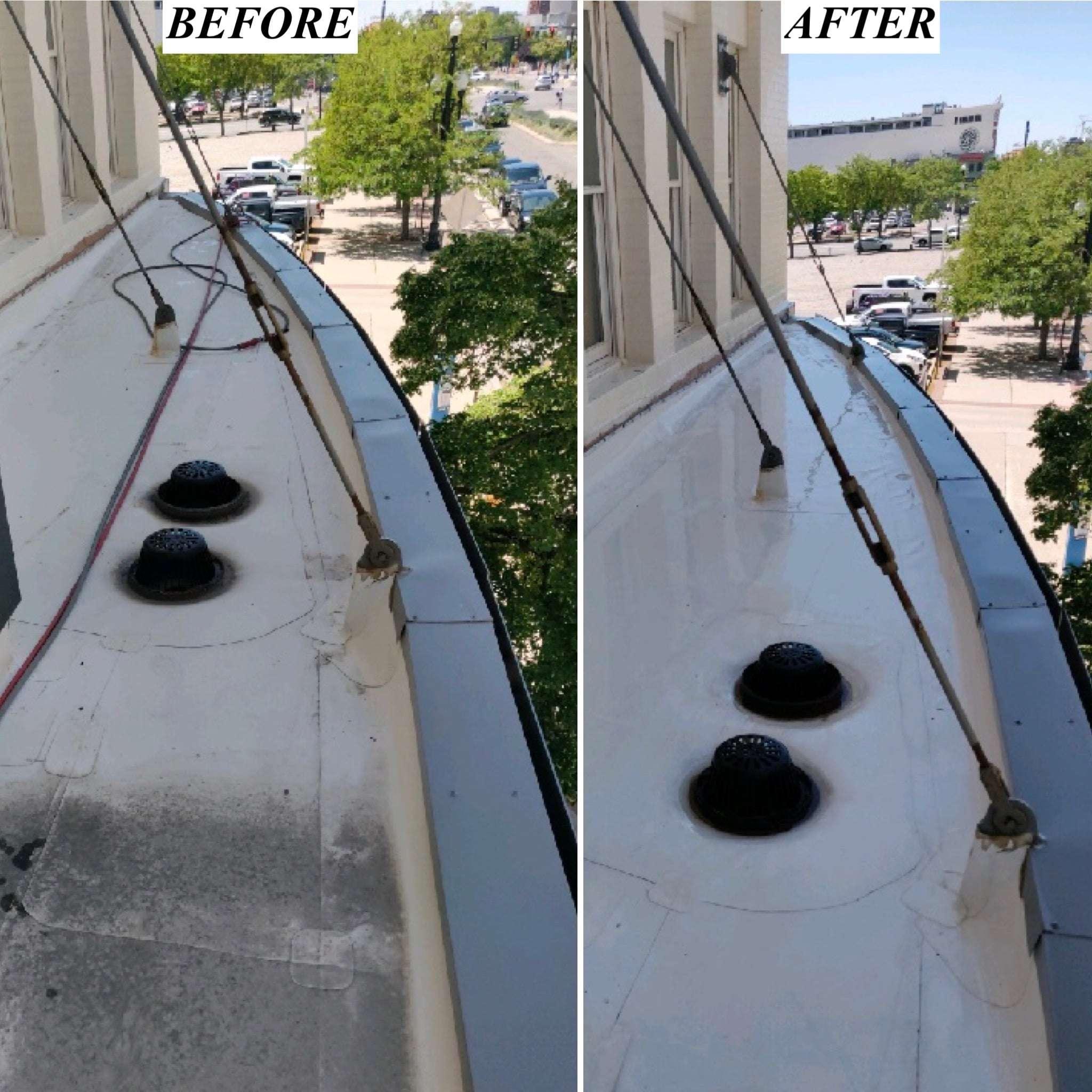 Rooftop Cleaning in Utah