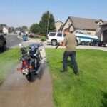 Motorcycle Mobile Detailing in Utah